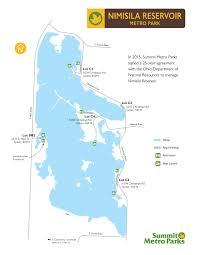 Silver Lake State Parkmaps U0026 Area Guide Shoreline Visitors Guide by Nimisila Reservoir Metro Park Summit Metro Parks