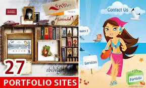 beautiful portfolio website design examples that will make you