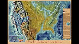 North America World Map by Future Map Of North America Youtube