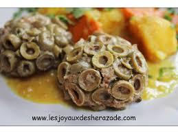 cuisin algerien cuisine algérienne viande hachée aux olives