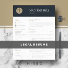 legal resume template for word and pages lawyer resume