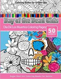 coloring books grown ups dead girls los
