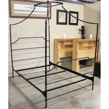 plain cool metal bed frames antique king size frame designs small