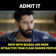 Memes About Beards - admit it back benchers boys with beards are more attractive than