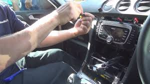 radio removal ford galaxy 2006 present justaudiotips youtube