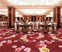 wall carpet 76dpi chromojet printed cut pile wall to wall carpet for hotel