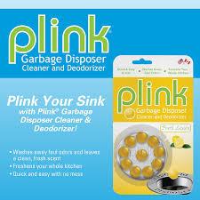 Amazoncom Summit Brands PLMN Plink Lemon Home  Kitchen - Kitchen sink deodorizer