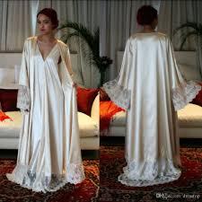 Full Length Bathrobe 2017 Classy Long Sleeves Cheap Bridesmaid And Bride Robes Custom