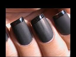 diy matte nail polish designs tutorial matte nail art youtube