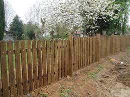 cloture jardin bois barrière en bois de jardin portillon de cloture pour panneau