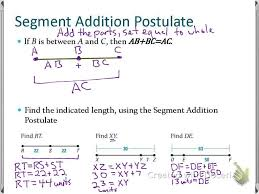 Segment Addition Postulate Worksheet Sec 1 2 Use Segments And Congruence