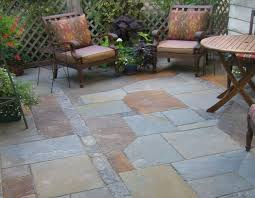 Rustic Patio Tables Blue Flagstone Patio Design Ideas For Backyard Ideas With Modern