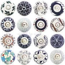 black ceramic cabinet knobs door knobs decorative 4 sentinel black white grey ceramic cupboard