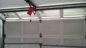 Installing An Overhead Garage Door Overhead Door Legacy Garage Door Opener In A For Sale House