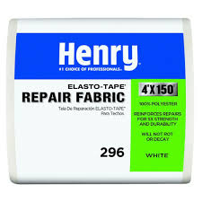 Henry Rubberized Wet Patch by Henry 4 In X 150 Ft Elastotape White Roofing Fabric He296195
