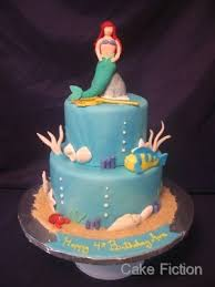 cake fiction little mermaid cake for disney princess