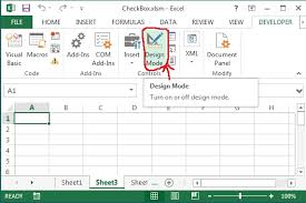 remove checkbox on worksheet or userform in excel