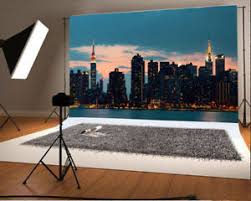 backdrop city building background vinyl studio backdrop city dusk 7x5ft