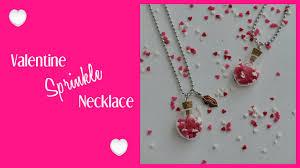 diy valentine s gifts for friends diy valentine necklace diy valentine s day gift idea youtube