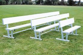 all aluminum team benches beacon athletics store
