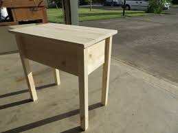 Skinny End Table Ana White Narrow Cottage End Table Diy Projects