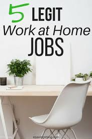 17 best images about money making on pinterest work from home 5 legit work at home jobs