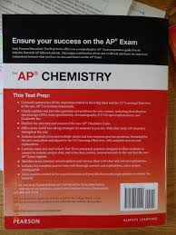 pearson education test prep series for ap chemistry new revised