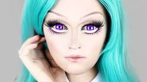 big cartoon eyes makeup images