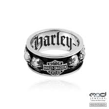 mens spinner rings men s harley davidson willie g skull sterling silver spinner