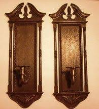 home interiors brand sweetheart sconces w country shade votive cups home interiors