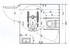norme handicapé chambre salle de bain handicap norme plan tlcharger en pdf plans 19 pour s r