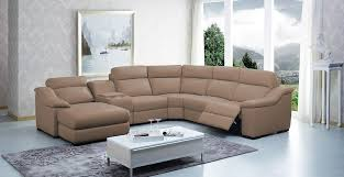 sectional sofa design leather sectional sofas with recliners