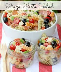 12 pasta salads just in time for spring pizza pasta salads