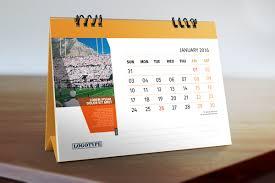 Desk Calendar Design Ideas Calendar 2016 Template On Behance