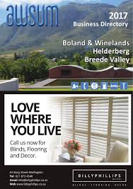 Email Business Directory by Boland Helderberg U0026 Breede Valley Business Directory 2017 By