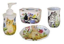 Porcelain Bathroom Accessories Sets Hand Painted Porcelain Bathroom Accessories Decorated Bathroom Blog