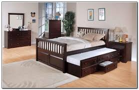 king size trundle bed frame lightheaded beds bobus discount