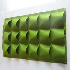 Wall Mount Planter by Aliexpress Com Buy Green Vertical Garden Planter Wall Mounted
