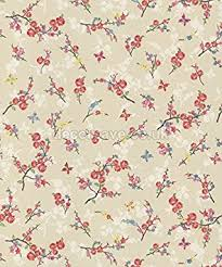 shabby chic wrapping paper holden beige blossom butterfly flowers floral shabby chic