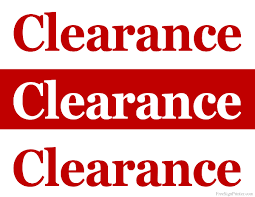 printable clearance sale signs store clearance signs