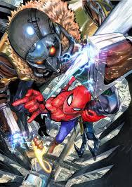 manga artist yusuke murata draws spider man for movie poster