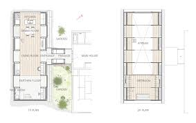 koya no sumika ma style architects archdaily floor plan