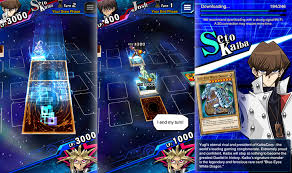 yugioh android children s card yu gi oh duel links is now live worldwide in