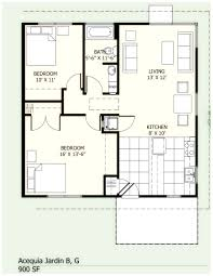 house plans 900 square foot house plans home plans with open