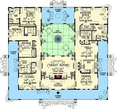 U Shaped House Plans With Courtyard Best 25 Unique Floor Plans Ideas On Pinterest Small Home Plans