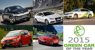 bmw car of the year bmw i3 among 2015 green car of the year finalists