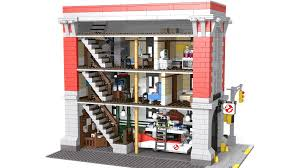 Lego Headquarters Lego Ideas Ghostbusters Headquarters