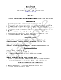Sample Resume Format For Bpo Jobs by Sample Resume For Call Center Agent With Experience Free Resume