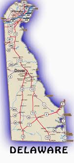 delaware road map usa printable us state maps free printable maps