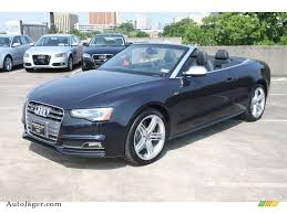 convertible audi 2013 2013 audi s5 3 0 tfsi quattro convertible in moonlight blue